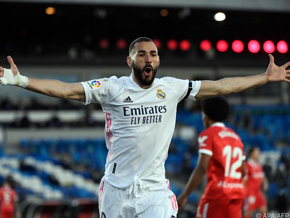 Karim Benzemas Team konnte gerade noch eine Niederlage verhindern