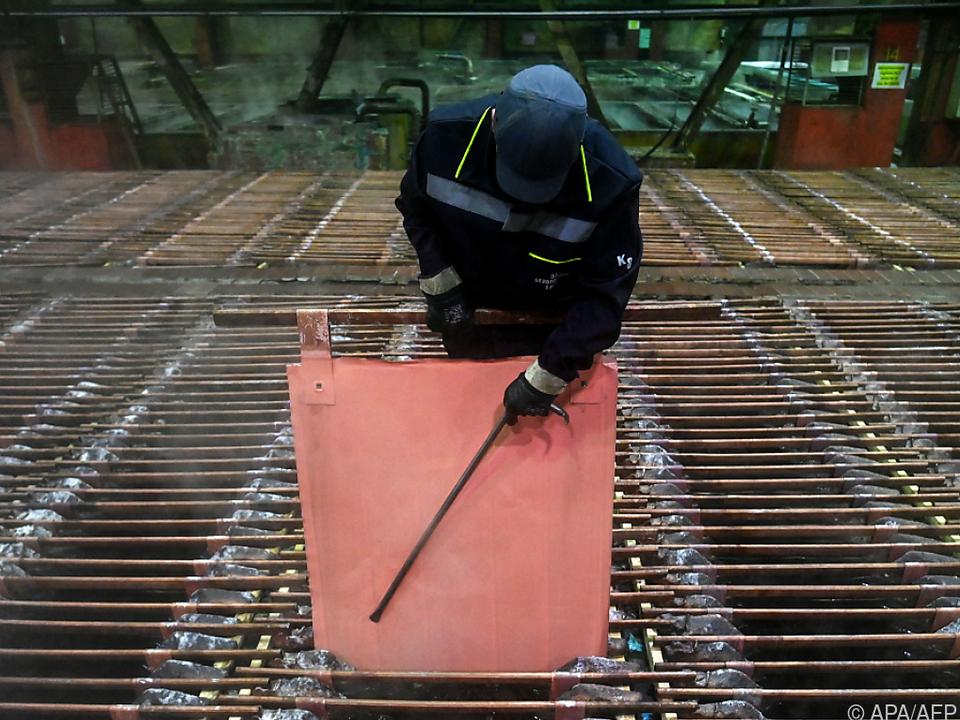 Kupferpreis legte im laufenden Jahr um mehr als 30 Prozent zu