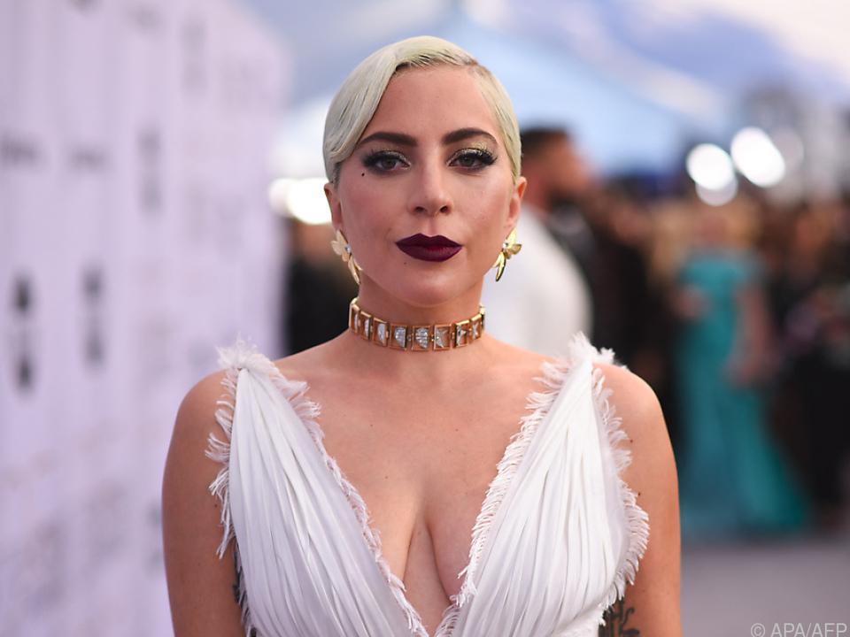 Lady Gaga als Gast bei der \