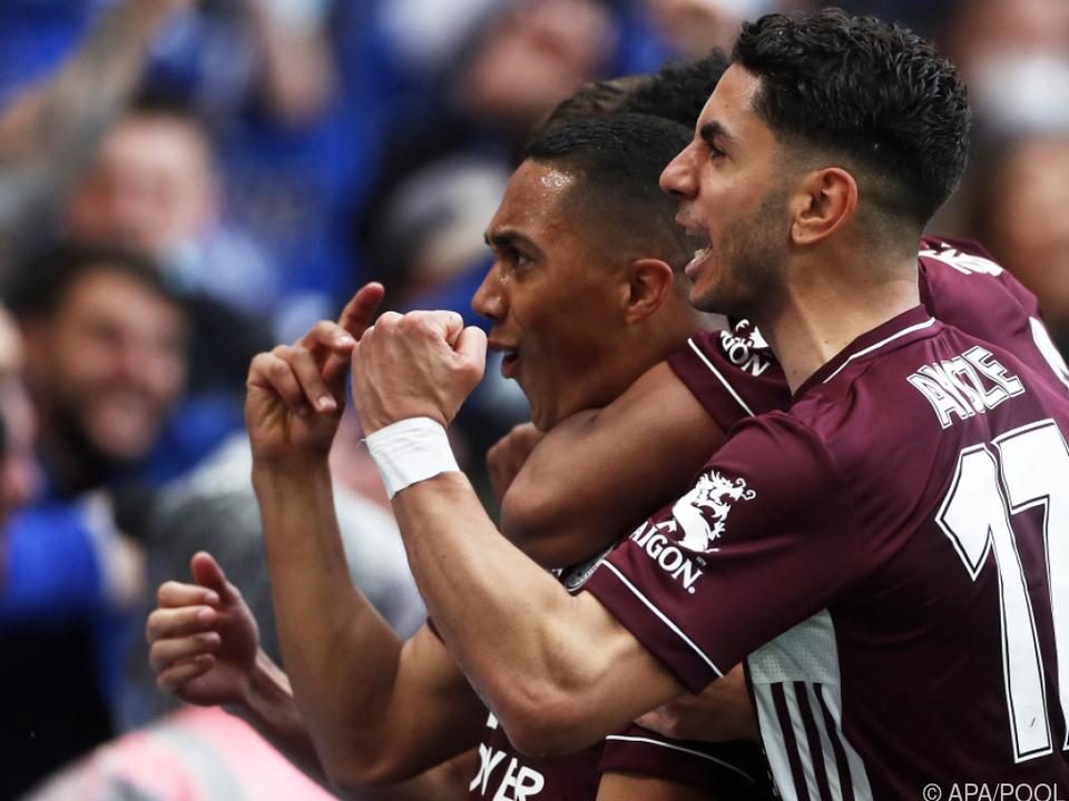 Leicester jubelte über FA-Cup-Sieg