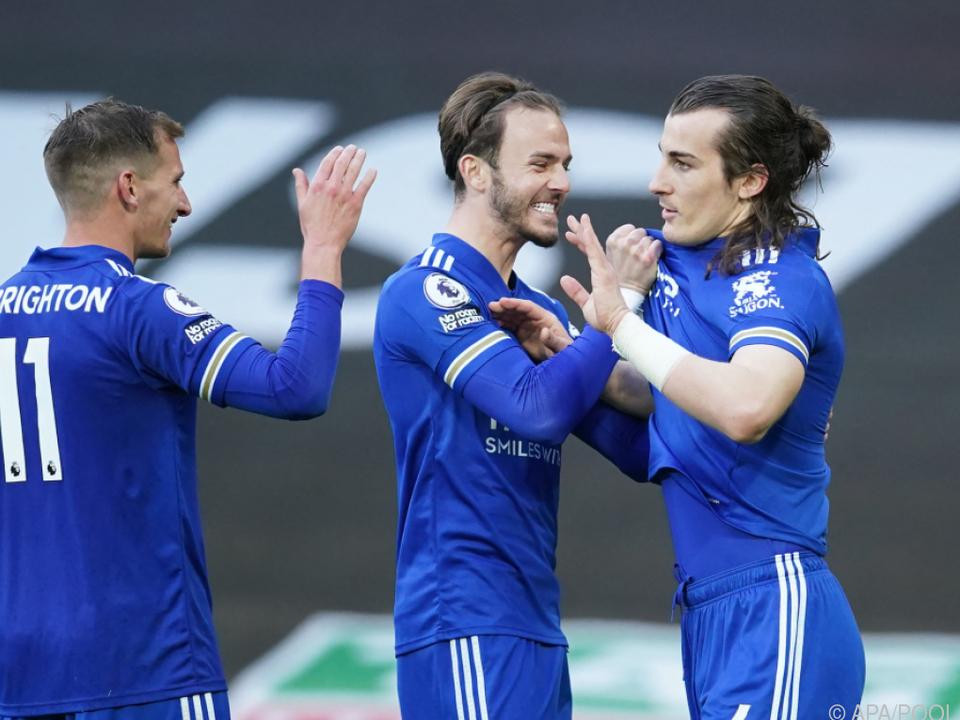 Leicester machte Manchester City zum Meister