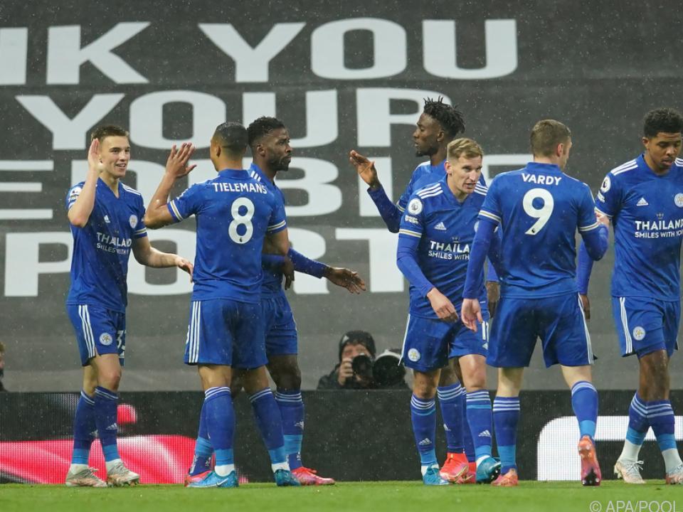 Leicester-Soeg machte ManCity zum Meister