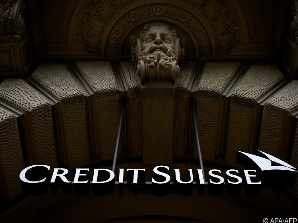 Logo der Riesenbank Credit Suisse