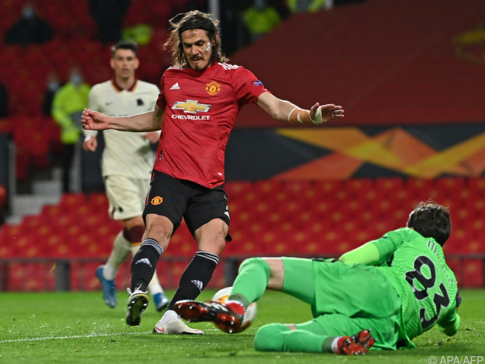 Manchester United steht vor Finaleinzug in EuropaLeague