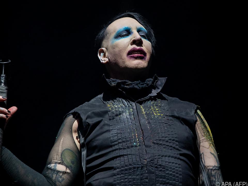 Marilyn Manson in Erklärungsnöten
