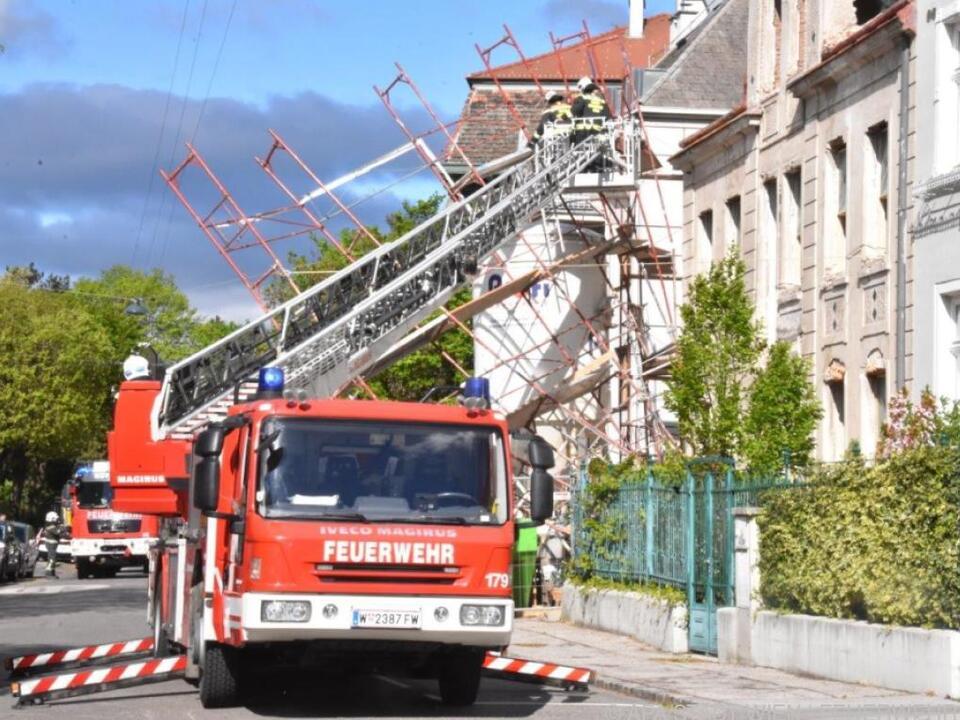 Mehr als 400 Einsätze gab es für die Feuerwehr in Wien