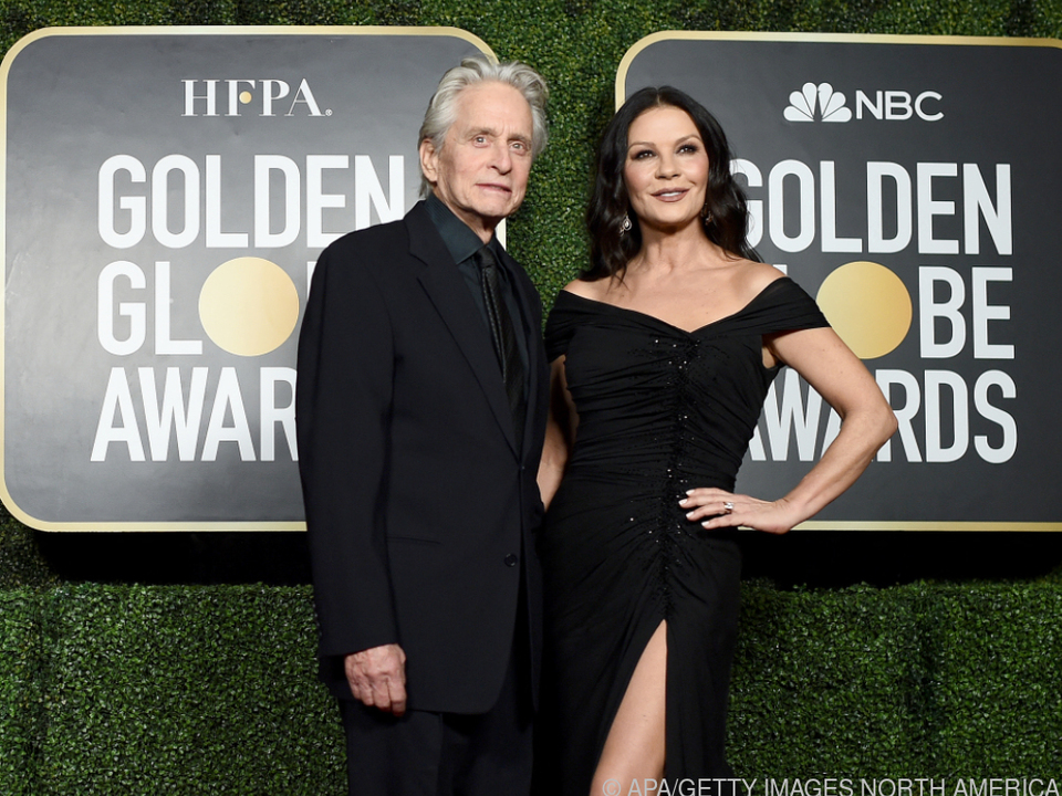 Michael Douglas mit seiner Frau Catherine Zeta-Jones