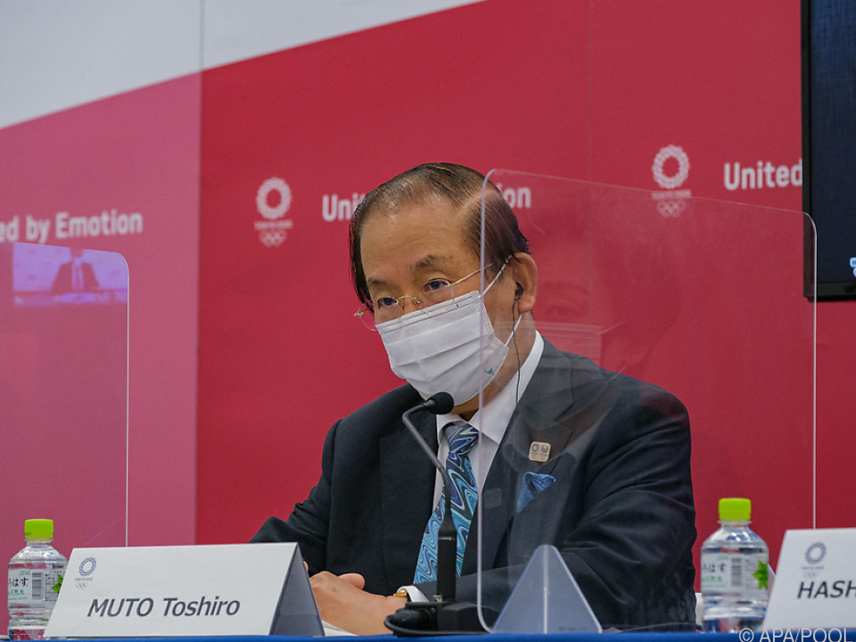 Muto bleibt für Tokio-Spiele Zuversicht in Person