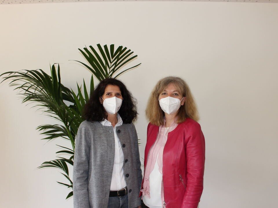 Neue VdS – Spitze Präsidentin Martina Ladurner und Vizepräsident Beatrix Kaserer (v. r.)
