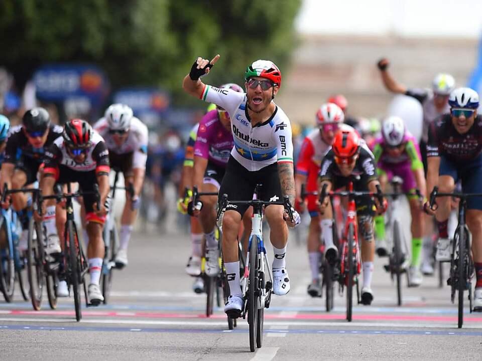 Nizzolo hatte im Finish die schnellsten Beine