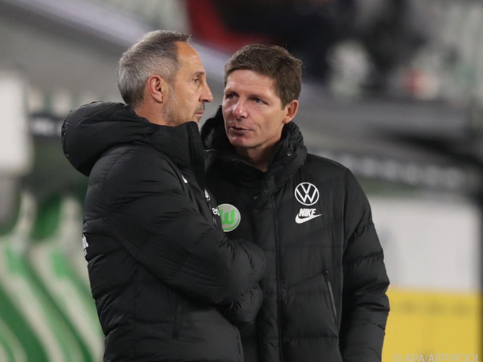 Oliver Glasner (r) wird in Frankfurt Nachfolger von Adi Hütter (l)