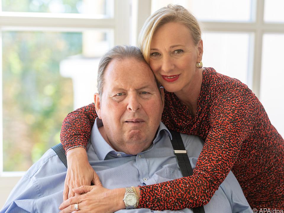 Ottfried und Simone Fischer hatten 2020 standesamtlich geheiratet