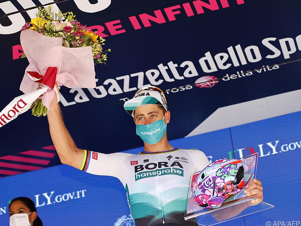 Peter Sagan gewann die 10. Giro-Etappe im Massensprint