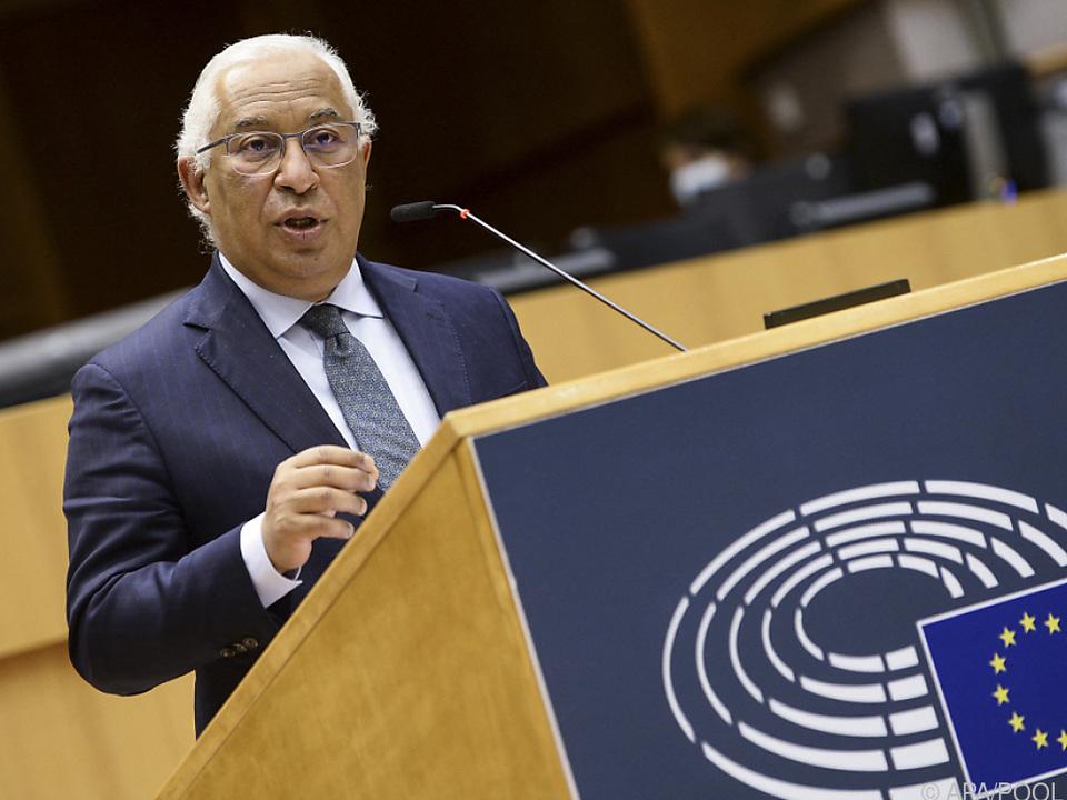 Portugiesischer Premier drückt bei EU-Impfpass aufs Tempo