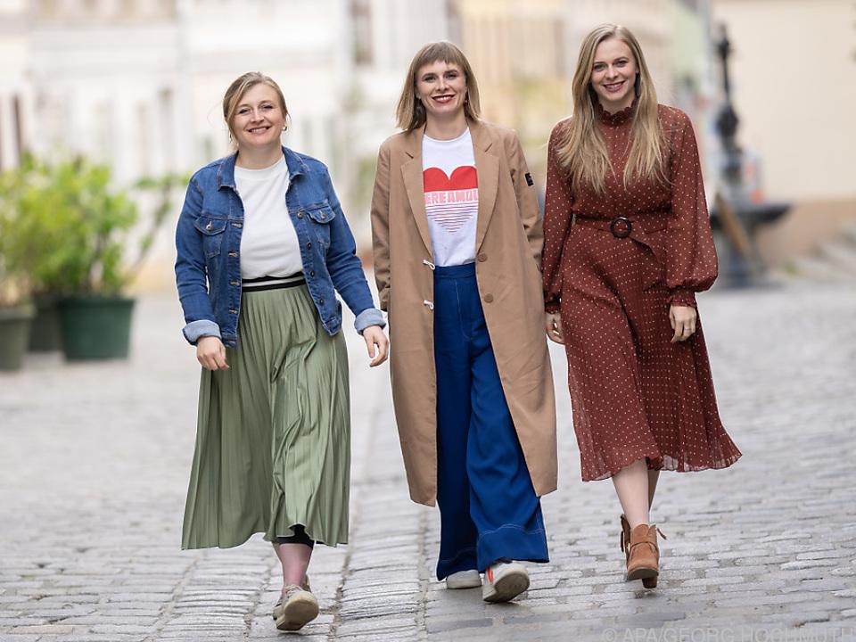 Poxrucker Sisters mit volksmusikalisch angehauchten Dialektpop