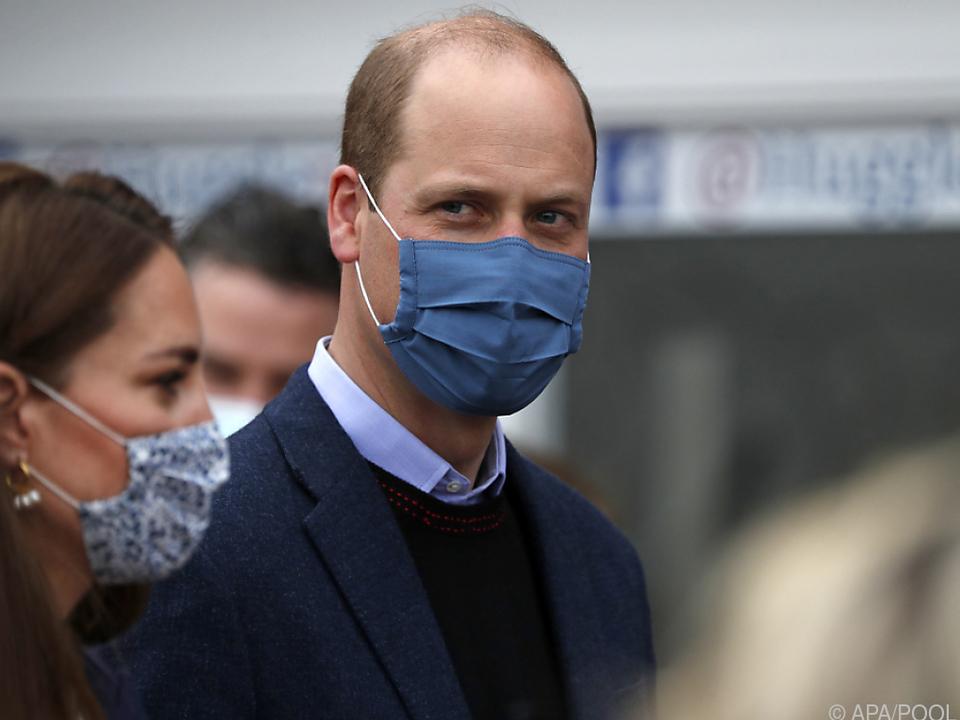 Prinz William ist geimpft