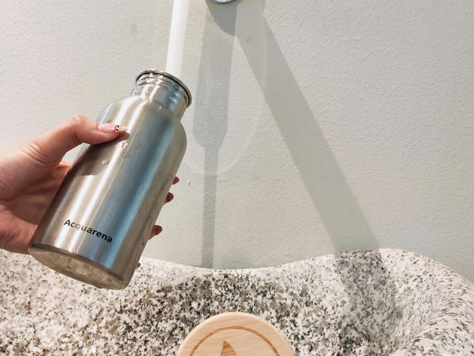 Refill your bottle-acquarena