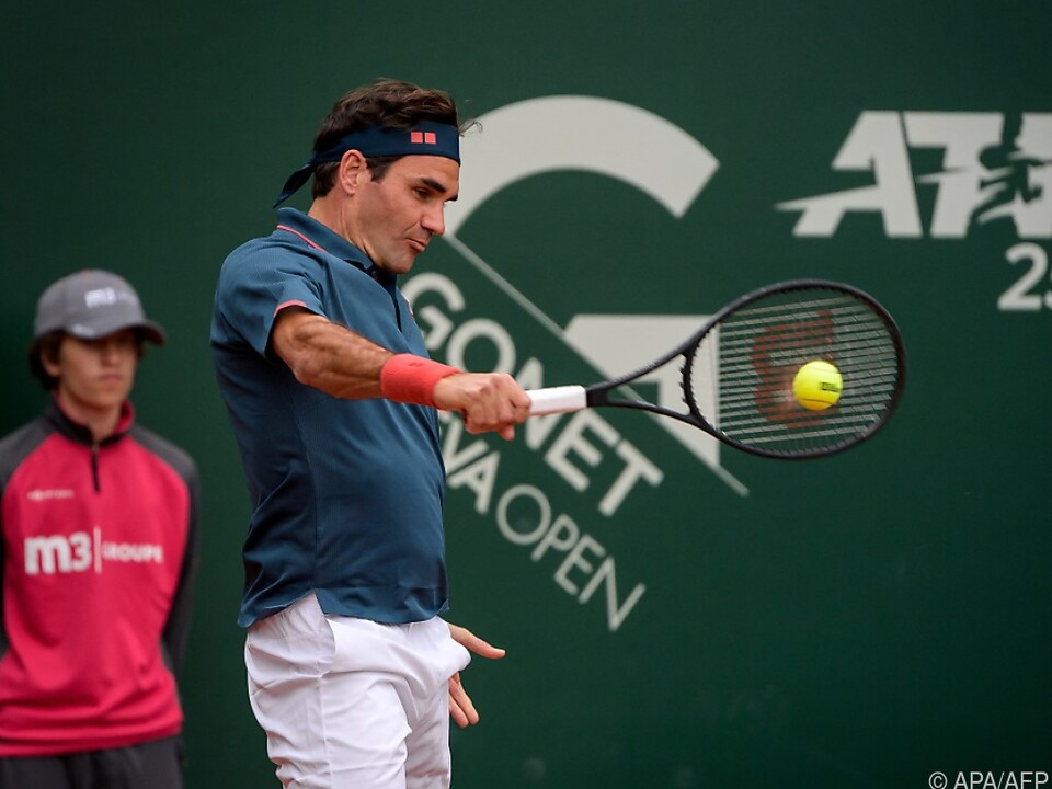Roger Federer knackte die Hürde Pablo Andujar nicht