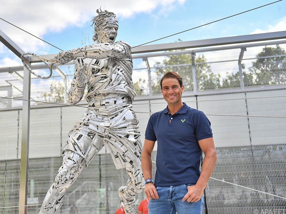 Sandplatz-König Nadal mit eigener Statue - Hofft auf 14. Paris-Titel