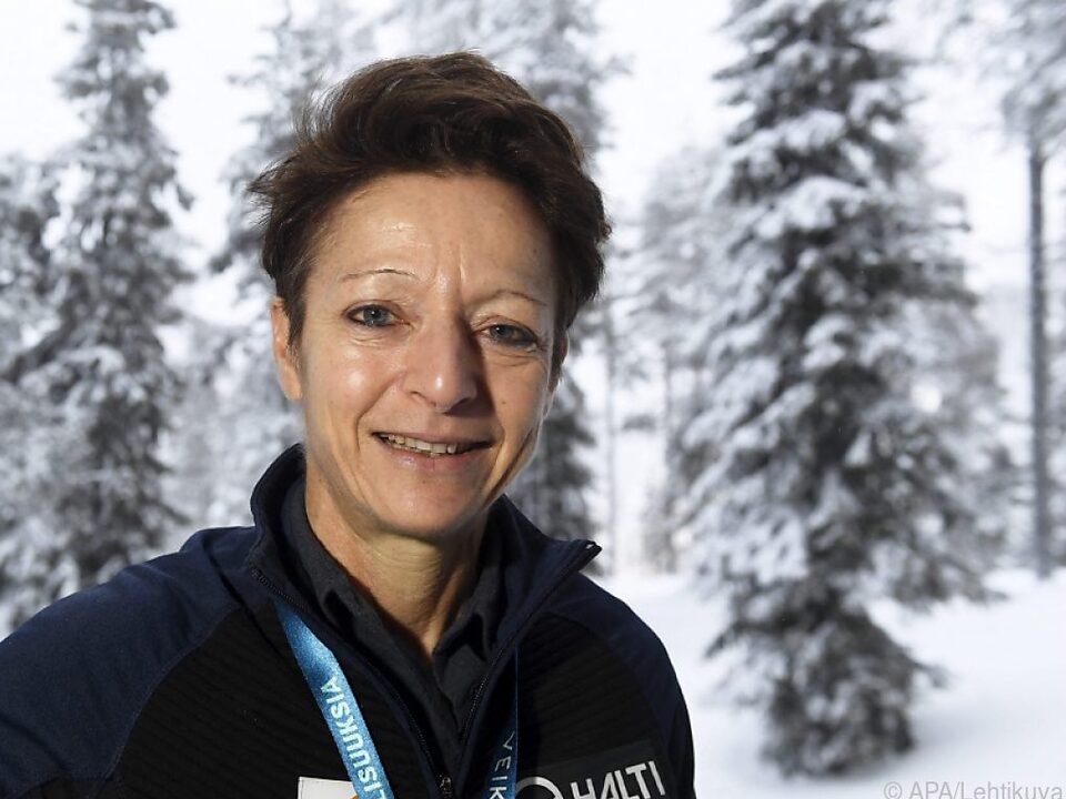 Sarah Lewis bewirbt sich als einzige Frau um FIS-Präsidentschaft