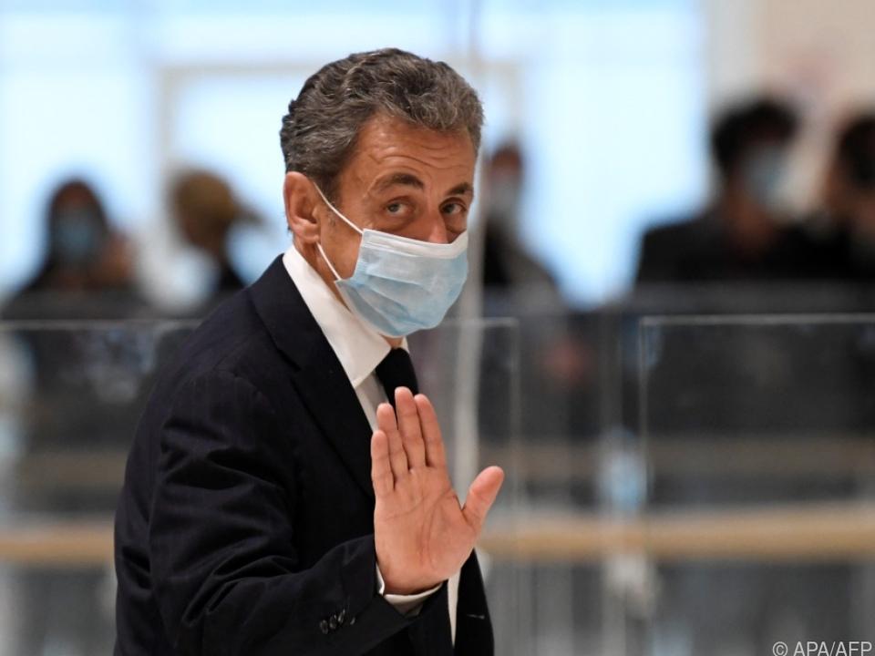 Sarkozy im November beim Gerichtstermin