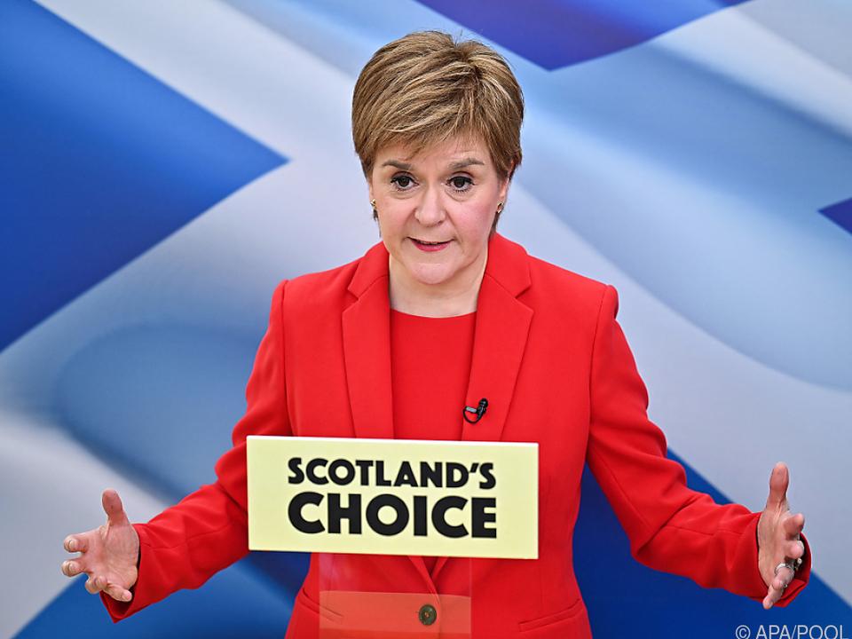 Schottische Ministerpräsidentin will neues Referendum