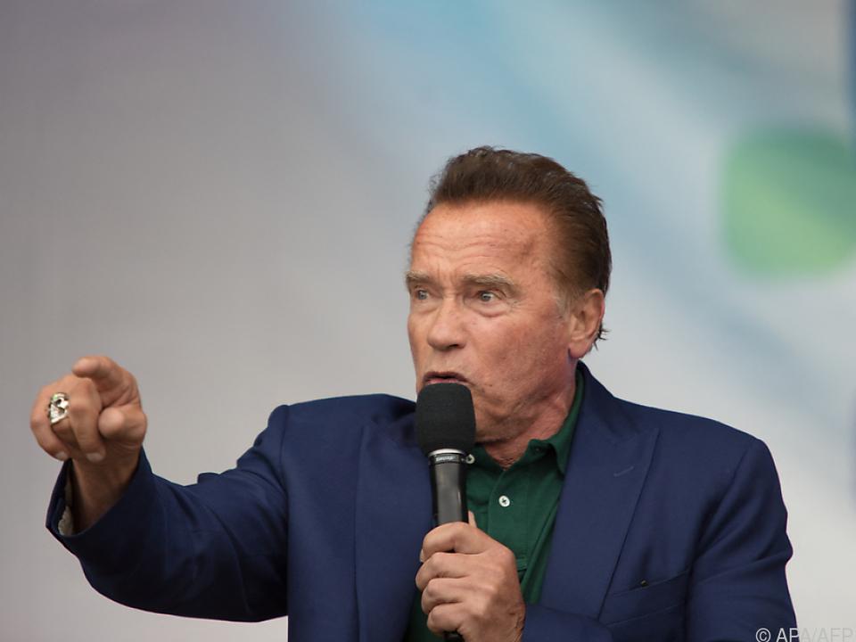 Schwarzenegger tritt erstmals in einer Serien-Hauptrolle auf