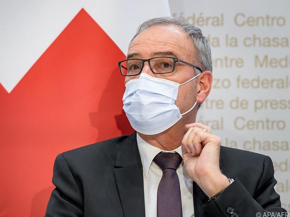 Schweizer Präsident Guy Parmelin verkündet Scheitern der Verhandlungen