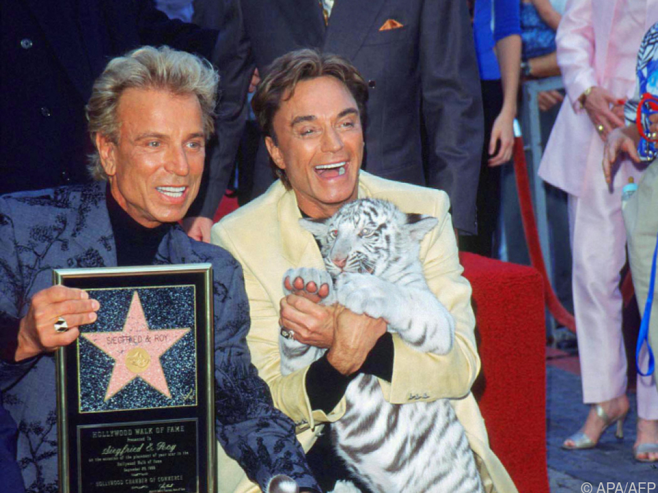 Siegfried und Roy bekamen 1999 einen Stern