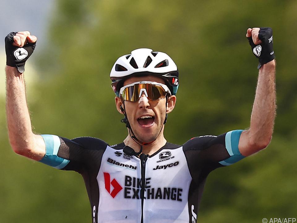 Simon Yates gewann die 19. Etappe des Giro d\'Italia