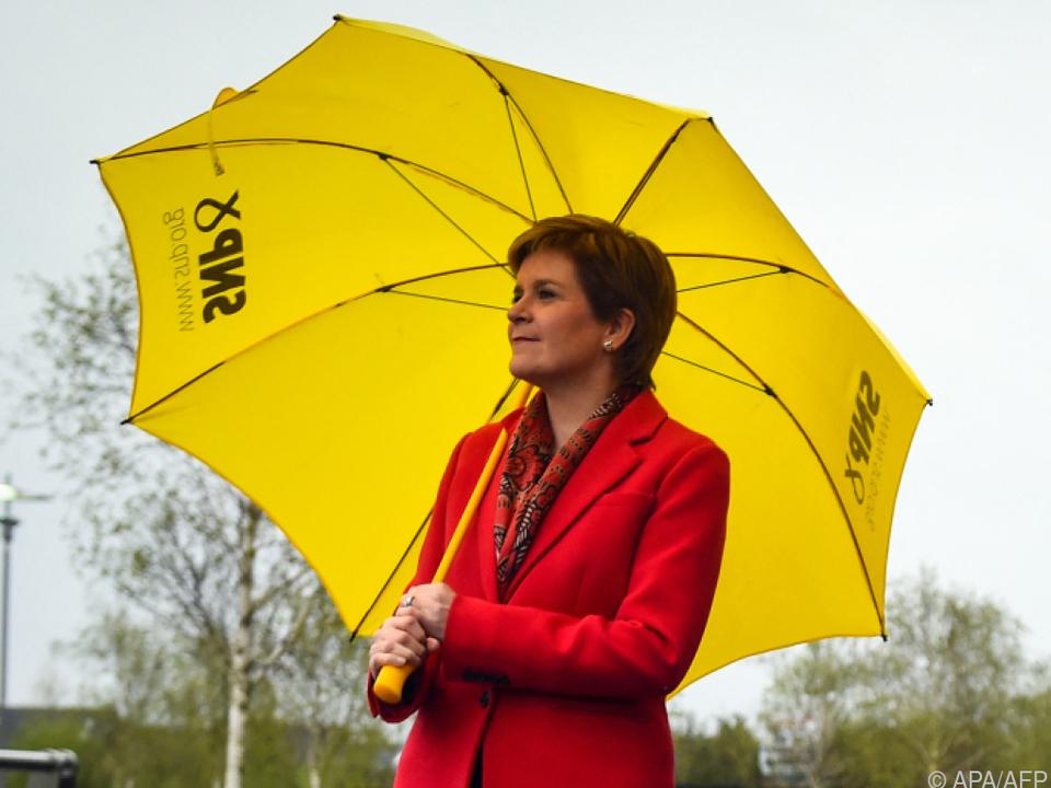 SNP-Chefin Nicola Sturgeon fordert neues Unabhängigkeitsreferendum