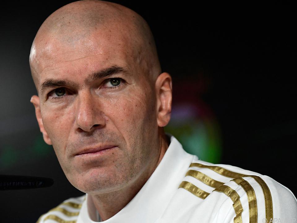 Superstar Zidane verlässt Real mit bitterem Gefühl