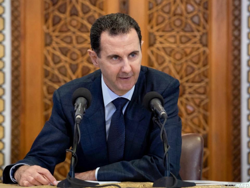 Syrischer Präsident Assad strebt Wiederwahl an