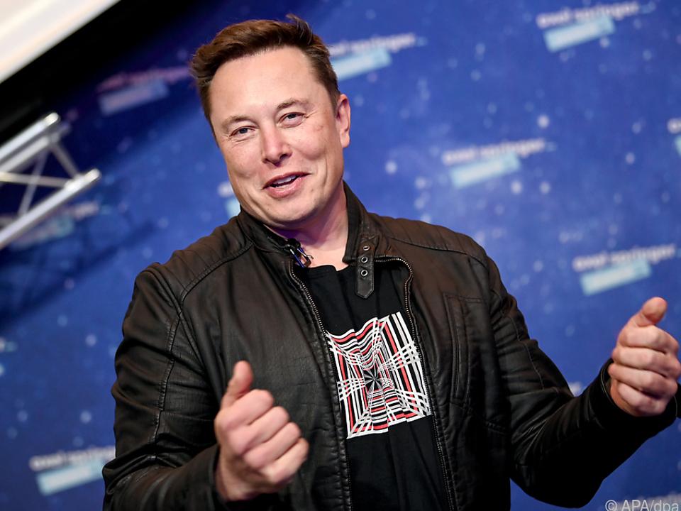 Tesla-Chef Elon Musk benimmt sich manchmal etwas seltsam
