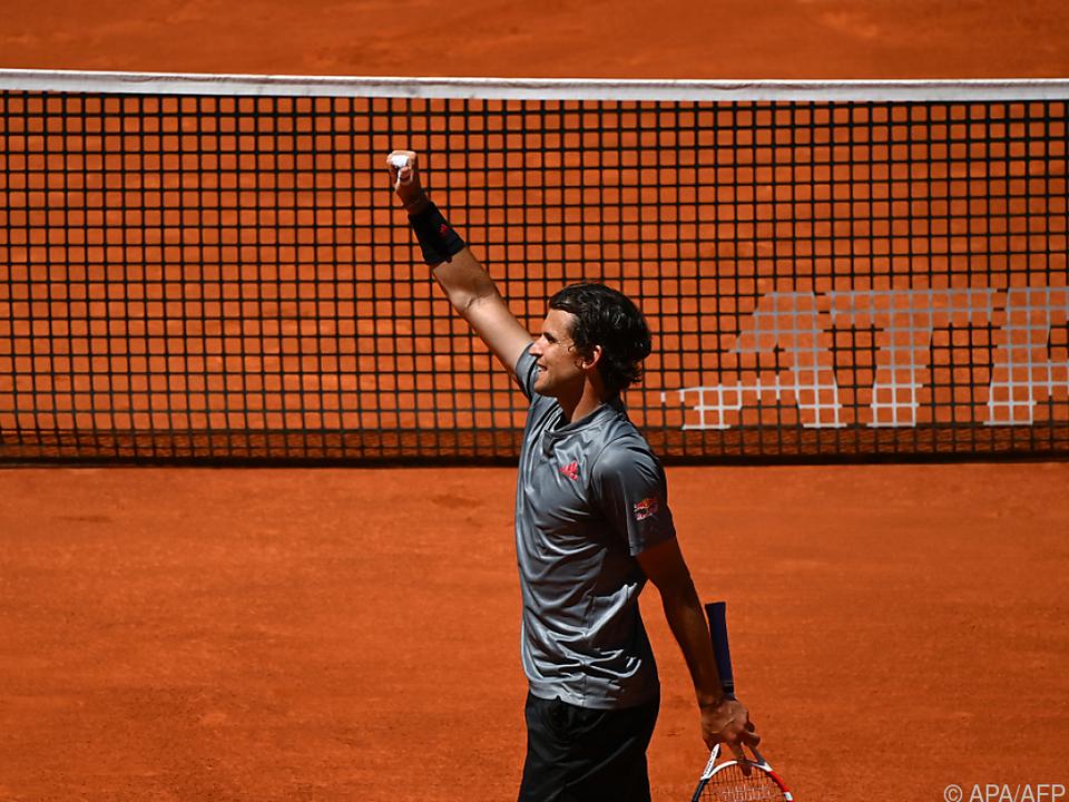 Thiem überrascht sich selbst mit Halbfinale in Madrid