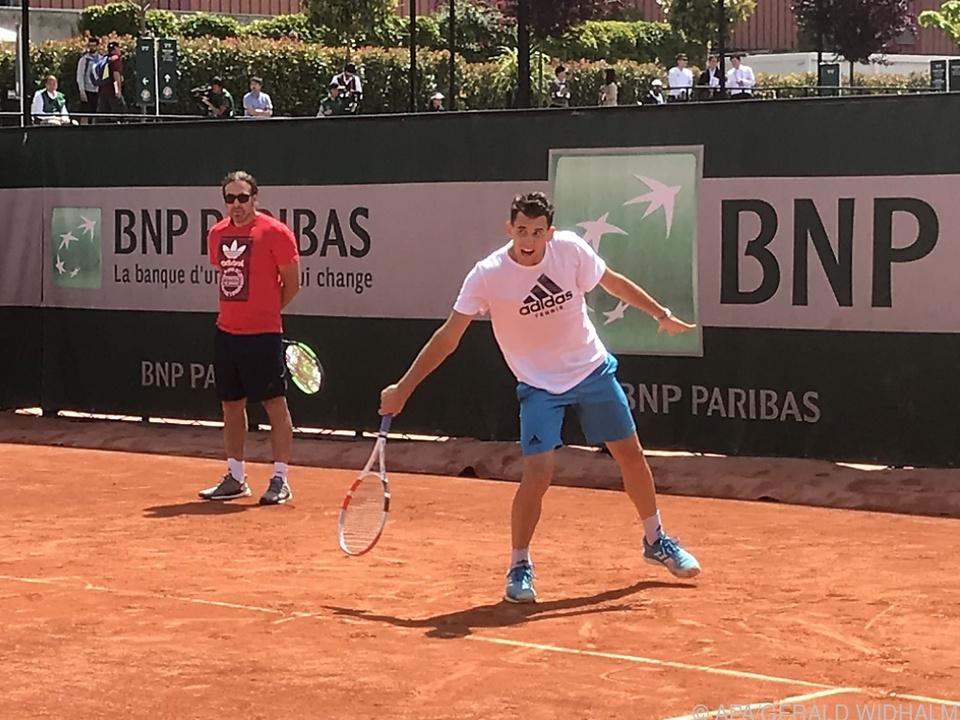 Thiem will in Roland Garros Form wiederfinden (Archiv)