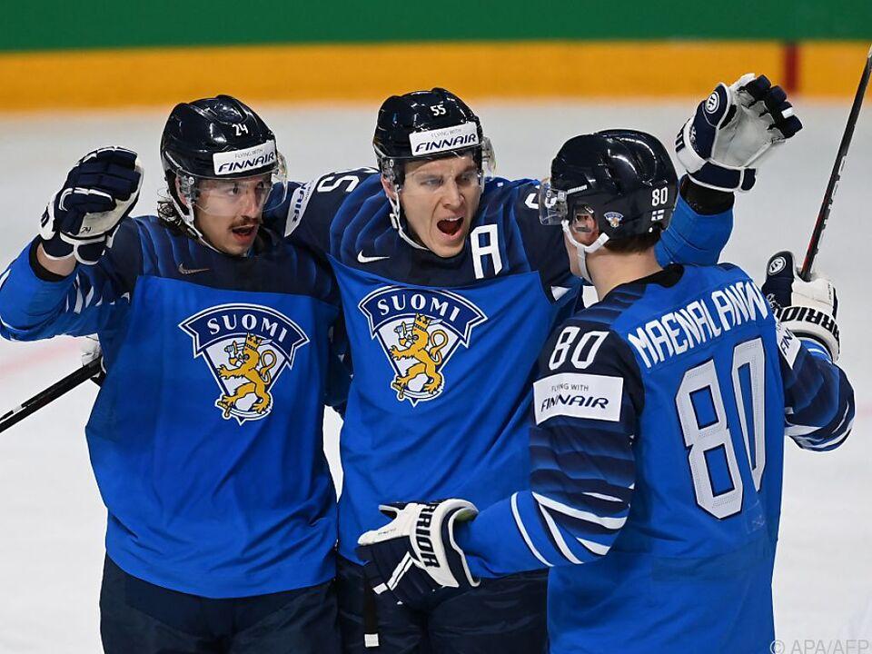Titelverteidiger Finnland startet mit Sieg gegen USA in Eishockey-WM