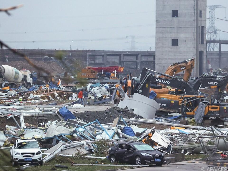 Tornados in Wuhan