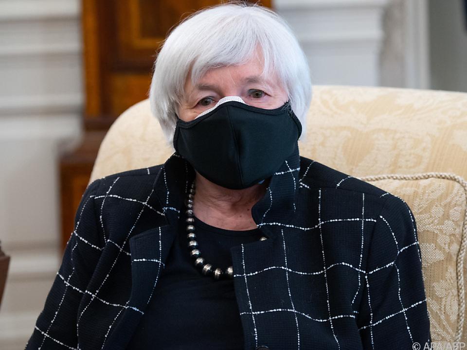 US-Finanzministerin Janet Yellen steht zu Konjunkturprogramm