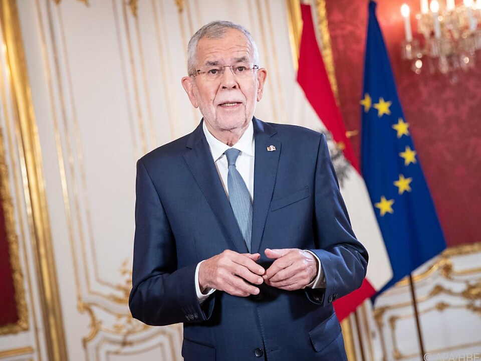 Van der Bellen anlässlich des Europatages 2020