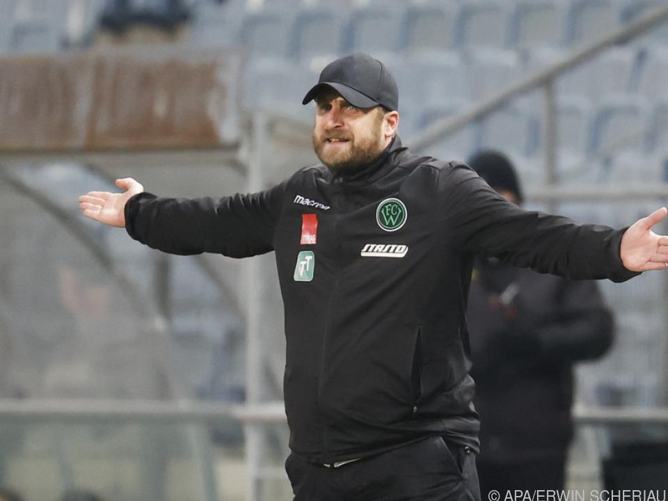 Wacker-Trainer Bierofka hofft auf den Bundesliga-Aufstieg