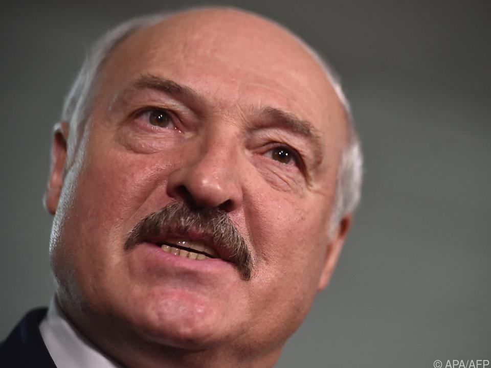 Weißrussischer Machthaber sieht \