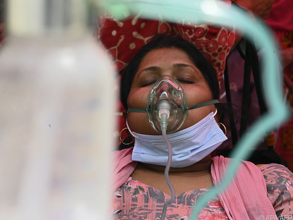 Weiter akuter Bedarf an Sauerstoff für Coronapatienten in Indien