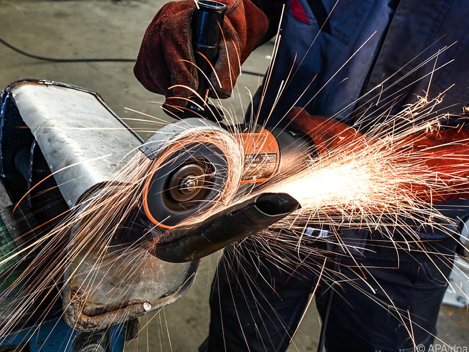 Wirtschaftsaufschwung kommt insbesondere in der Industrie