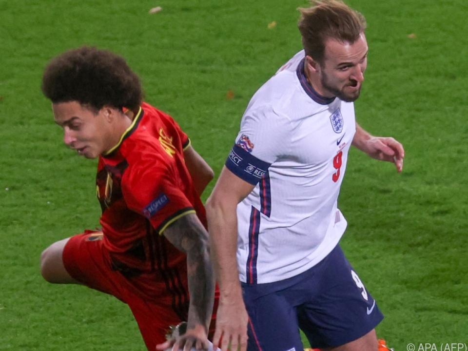 Witsel (l.) in seinem bisher letzten Länderspiel im November 2020