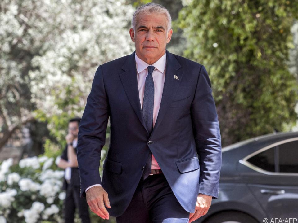 Yair Lapid begibt sich auf Regierungssuche