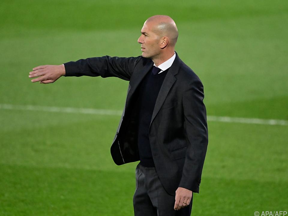 Zidane dürfte Real verlassen