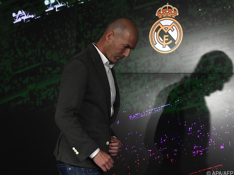 Zidane geht bei Real Madrid zum zweiten Mal nach 2018 freiwillig