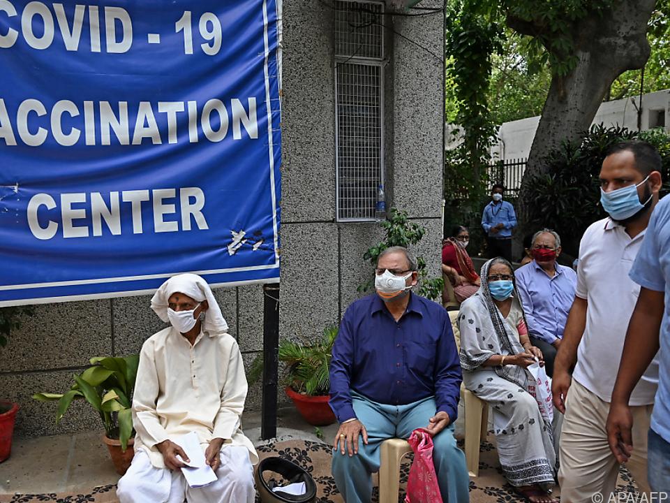 Zu wenig Impfstoff im bevölkerungsreichen Land