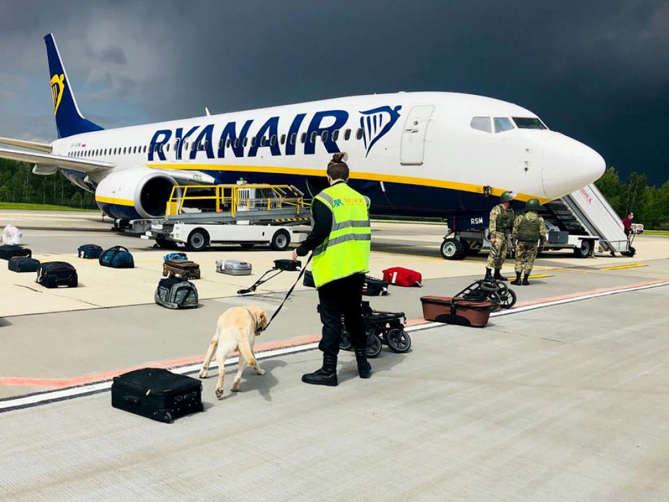 Zwangslandung der Ryanair-Maschine in Minsk sorgt weiter für Kritik